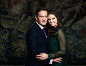 Prinsessan Madeleine och Chris O'Neill, förlovning