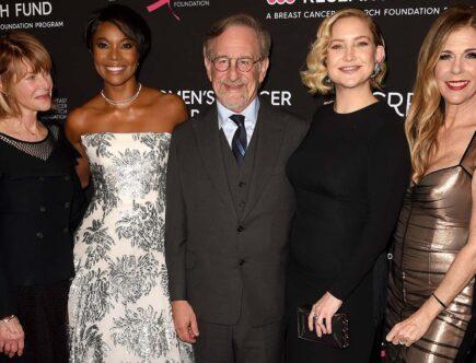 Kate Capshaw, Gabrielle Union, Steven Spielberg, Kate Hudson och Rita Wilson.