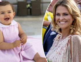Prinsessan Adrienne och prinsessan Madeleine