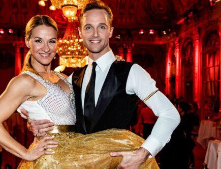 Let´s Dance, Kristin Kaspersen och Calle Sterner