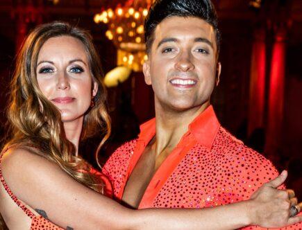 Sanna Lundell och Aaron Brown. Let´s Dance