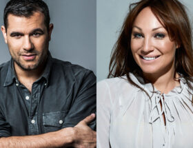 Edward af Sillén och Charlotte Perrelli kommenterar Eurovision Song Contest i maj.
