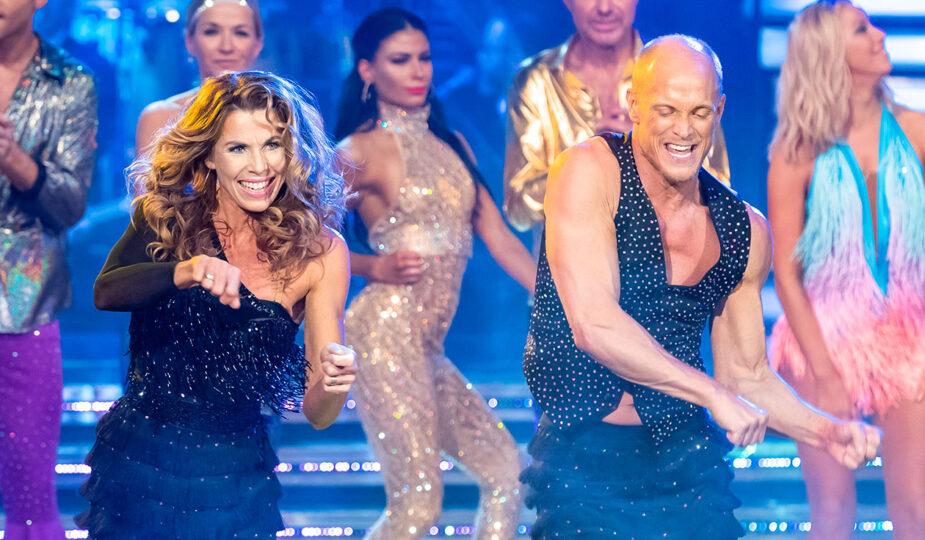 Lets dance, Magdalena Forsberg och Tobias Karlsson