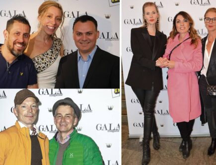 GALA magazine Long shot