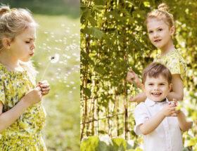 Prinsessan Estelle och prins Oscar