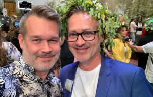 GALAs Pär Jonasson med Tony Irving.