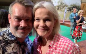 GALAs Pär Jonasson och Sissela Kyle.