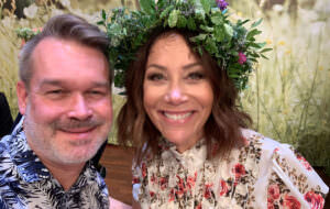 GALAs Pär Jonasson med Tilde de Paula Eby.