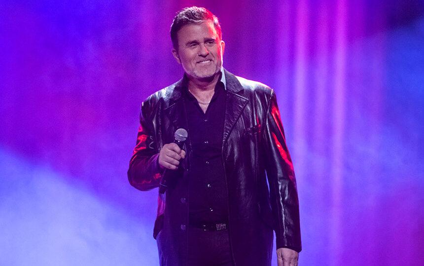 Jan Johansen, Melodifestivalen 2020 Foto: SVT/Stina Stjernkvist