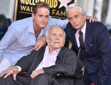 Hall of Fame, Cameron Douglas, Kirk Douglas och Michael Douglas