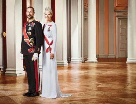 Norska kronprinsparet